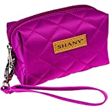 SHANY Limited Edition Mini Tote Bag and Travel Makeup Bag, Violet