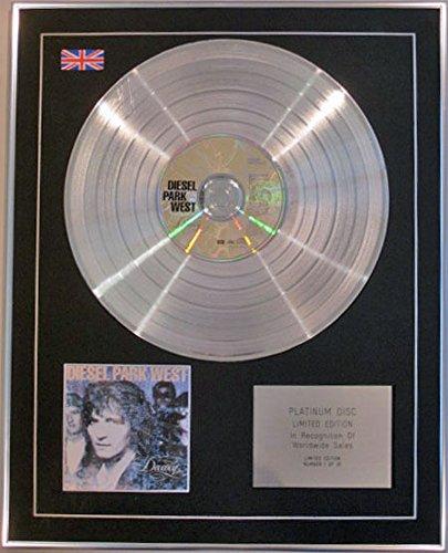 Parque oeste - Edición limitada DIESIEL CD disco de platino - decencia