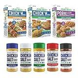 Vegan Plant Based Meats Combo & Chicken Salt...