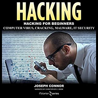 Hacking: Become the Ultimate Hacker audiobook cover art