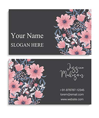Amerixun Custom Name Card,Business Card,Thick Paper, Standard Size 3.5