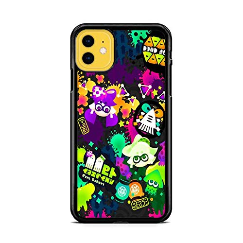 NETOBEEK [Splatoon] Phone Case for iPhone 12, Splatoon-Logo,[NET7834-N1-1275],Handyhülle,Hülle,Coque,Custodia,Carcasa,Cover,Shell,Case