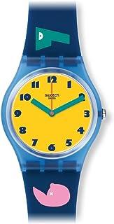 ساعة سواتش GN242 1 2 3 سولي بسوار سليكون متعدد الالوان