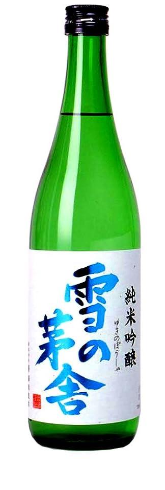葉老朽化した消える雪の茅舎 純米吟醸酒 720ml