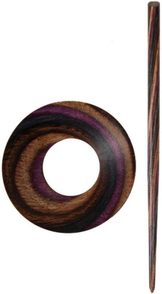 Holz 21 x 0,4 x 4,59 cm KnitPro Strickschluss Multi