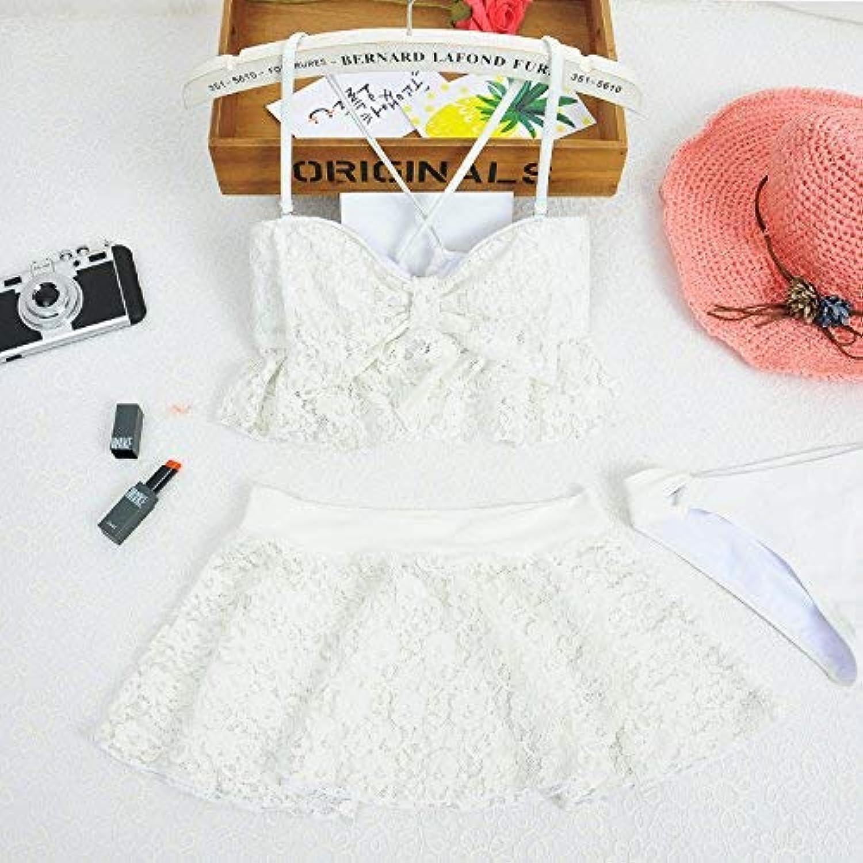 Qiusa Frauen Split Rock Rock Rock Style Badeanzug Spa Mode Sexy Badeanzug, Weiß, M (Farbe   Wie Gezeigt, Größe   Einheitsgröße) B07PTX4SCH  Elegante und robuste Verpackung bb43a1