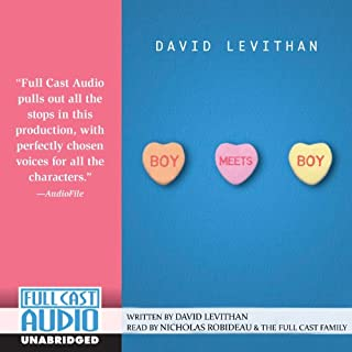 Boy Meets Boy audiobook cover art