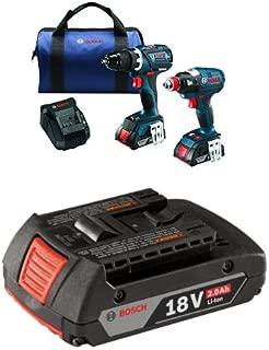 Bosch CLPK238-181 18V 2 Tool Combo Kit with 1/4