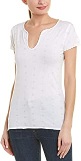 Womens Tunisien Mc Ao Dot T-Shirt, L, White