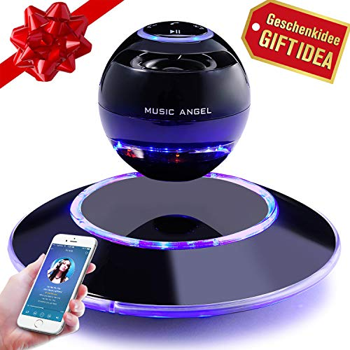 Music Angel Levitating Speaker, Magnetic Floating Wireless Speaker...
