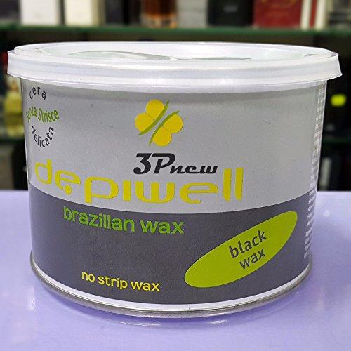 Depiwell Cera Brasiliana Black Wax (senza strisce) 400ml