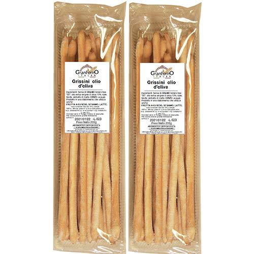 手作りグリッシーニ Breadsticks (grissini) with extravirgine olive oil