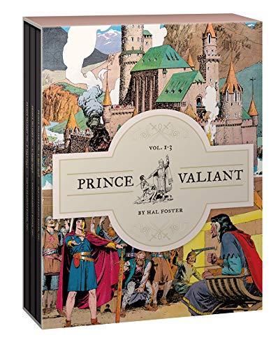 Prince Valiant Vols. 1-3: Gift Box Set: 0