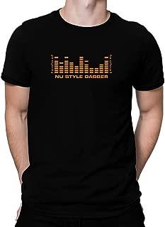 Teeburon Nu Style Gabber Level Equalizer T-Shirt