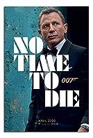 映画ポスター 007 ノータイムトゥーダイ NO TIME TO DIE 24×36inc (61×91.5cm) UK版 uk1 [並行輸入品]