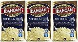 Idahoan Butter & Herb Mashed Potatoes - 4 oz - 3 pk