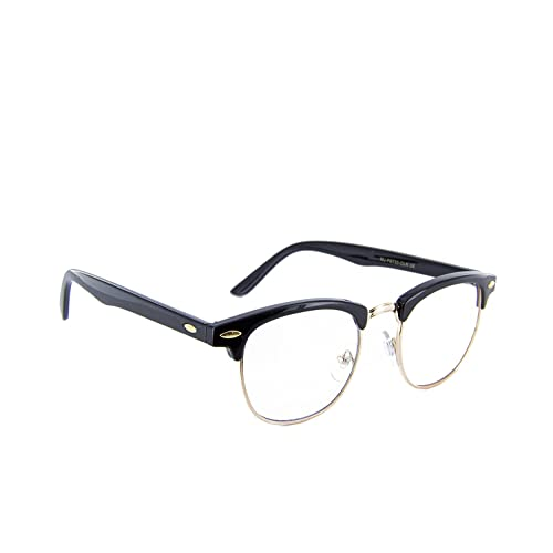 82018235c21 MJ Eyewear New Vintage Classic Sunglasses Half Frame Semi-Rimless Retro  Classic Glasses