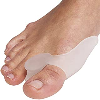 DR ROGO Bunion Relief 2 Big Toe Protectors For Bunions Treatment Bunion Gel Toe Separators, Spacers, Straightener and Spreader for a perfect Toe Alignment and bunion pain relief