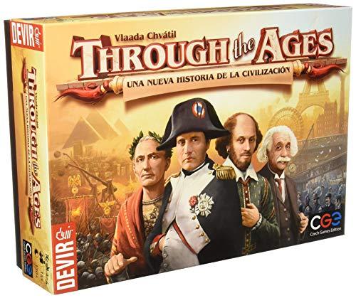 Devir - Through the Ages: una nuova storia della civiltà, gioco da tavolo (BGHTAGES)
