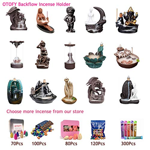 OTOFY Handmade Ceramic Incense HolderEmpty
