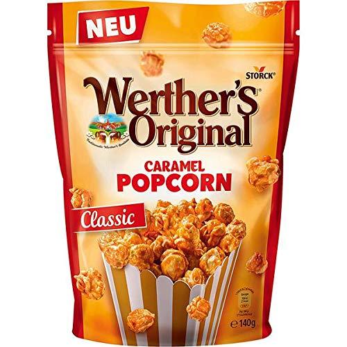 12 Beutel Popcorn Werther's Original Caramel Popcorn Classic a 140g