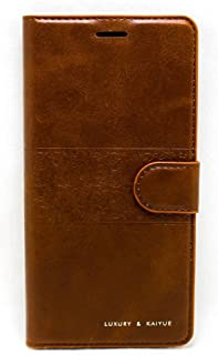 Flip Cover For Oppo A57, Brown