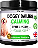 Dog Calming Product | Anxiety Relief For Dogs | 170 Treats | A Natural Stress Treatment | Dog Supplements To Help Calm Anxiety In Dogs |