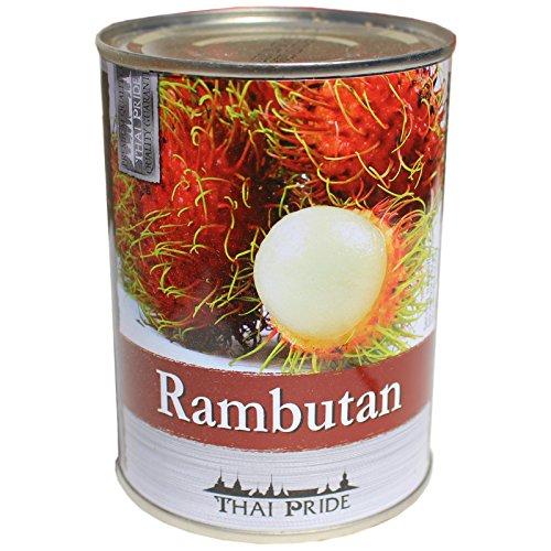 Thai Pride Rambutan Früchte 565g/ATG230g Chom Chom