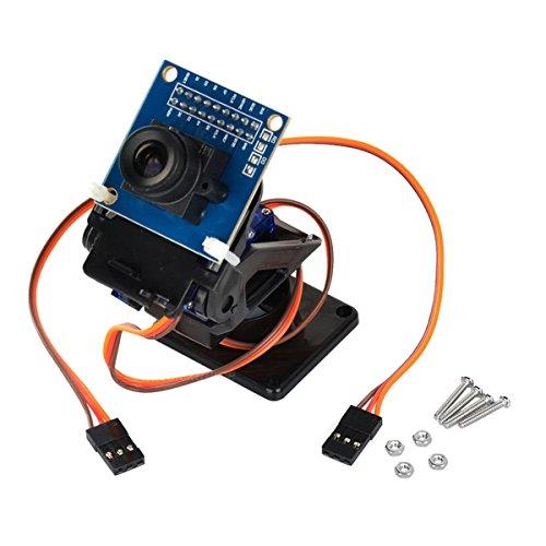 LDTR babybed voor 2 assen en cameraset OV7670 voor auto Robot/R/C - zwart + blauw
