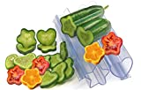 Molds For Vegetables And Fruits - Fantastic Shapes To Vegetables And Fruits - Heart And Star - Molds For Vegetables And Fruits - Fantastic Shapes To Vegetables And Fruits - Heart And Star - 4 pieces.