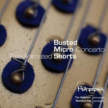 S. Mackey: Busted, Micro-Concerto & Shorts