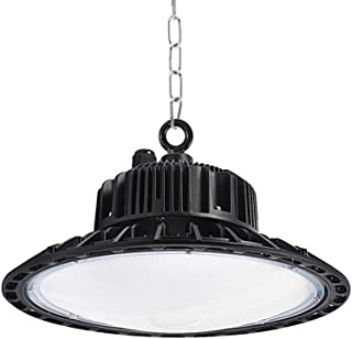 Natur 100W 10000lm UFO LED Lámpara Alta Bahía Impermeable IP54,Industrial LED Iluminación Comercial Luces para Fábrica, Aeropuerto, Centro Comercial y Depósito [Clase de eficiencia energética A