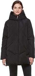 Women's Heavy Duty Thickened Hooded Down Coat Winter Warm Windproof Parka Puffer Jacket