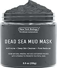 DEAD SEA MASK works for all skin types, including dry, normal, oily, combination, sensitive, and irritated. This daily acne treatment has been designed to be highly effective yet gentle enough for everyday use. MINERAL-INFUSED Clarifying Mud Mask is ...
