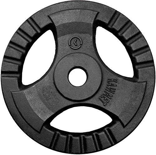 Hantelscheibe Gusseisen Platte Rad Tri-Grip KAWMET 28,5mm 20kg