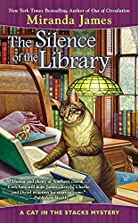 Cat Mystery books - The Silence of the Library