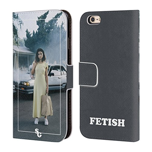 Head Case Designs Licenza Ufficiale Selena Gomez Cover Album Fetish Cover in Pelle a Portafoglio Compatibile con Apple iPhone 6 / iPhone 6s