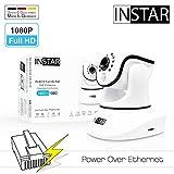 INSTAR IN-8015 Full HD (PoE) Weiss - PoE Überwachungskamera - IP Kamera - Innenkamera - Pan Tilt - Alarm - PIR - Bewegungserkennung - Nachtsicht - Weitwinkel - IEEE 802.3af - RTSP - ONVIF
