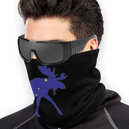 Alive Inc Eis Unisex Fleece Neck Warmer Gamasche Mikrofaser Gesichtsmaske Halsmanschette, Magic Scarf für Staub im Freien