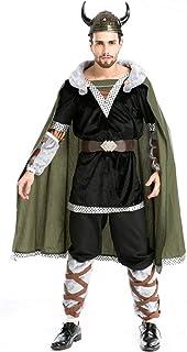 COSOER Disfraz De Hobbit Ropa De Fiesta del Rey Demonio De Vaca ...