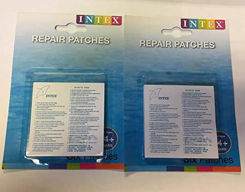 Intex Wet Set Vinyl Plastic Repair Patch (2)
