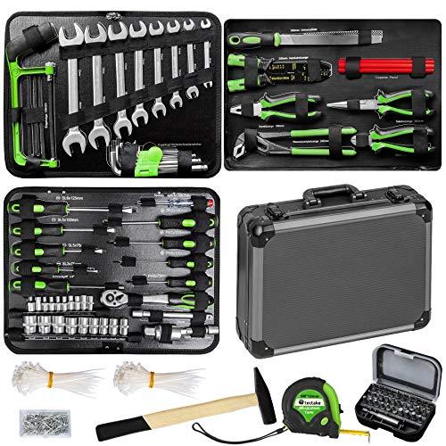 TecTake 500 teiliger Werkzeugkoffer mit...
