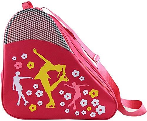 xcxc Schlittschuh-Tasche, Quad-Eislaufschuh-Taschen Inline-Schlittschuh-Tasche, Damen-Eiskunstlauf-Tasche Hockey-Schlittschuh-Tasche, Blade-Schlittschuh-Tasche Rollerskates, Schlittschuh-Taschen