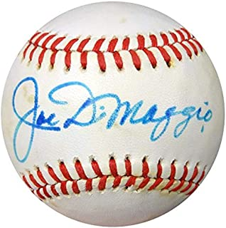 Signed Joe DiMaggio Baseball - AL #AA03701 - PSA/DNA Certified - Autographed Baseballs
