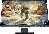 HP 25mx – Monitor de juegos de 25' FHD (1920 x 1080 a 144Hz, TN, 1ms, HDMI, Antirreflejo, Low Blue Light, Iluminación Ambiental, Altura e Inclinación Ajustables) Negro