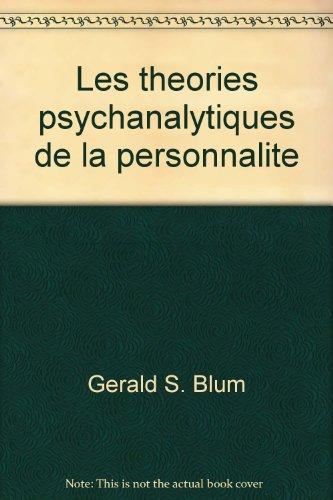 Les théories psychanalytiques de la personnalité