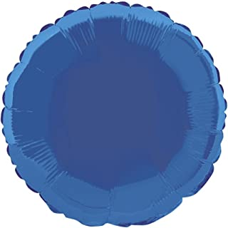 "18"" Foil Round Royal Blue Balloon"