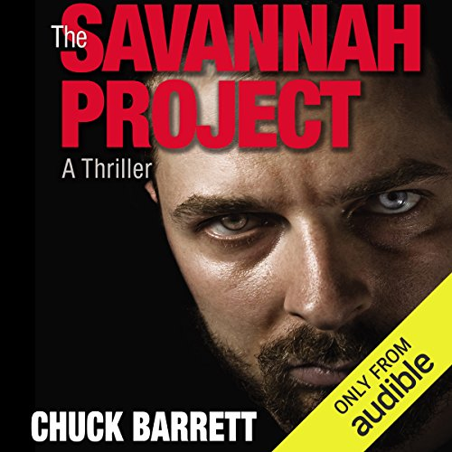 The Savannah Project audiobook cover art