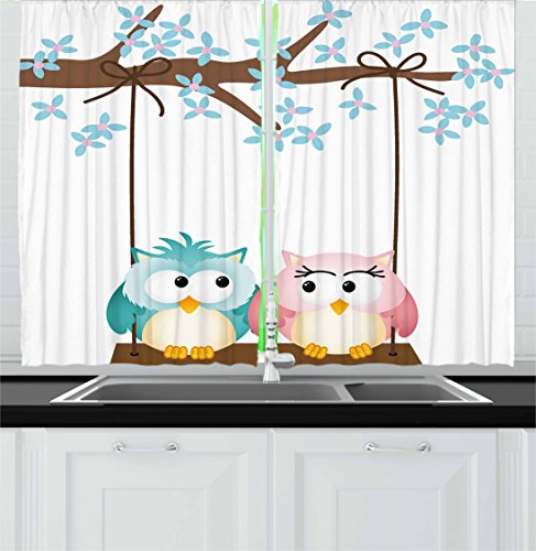Two Owls Curtains
