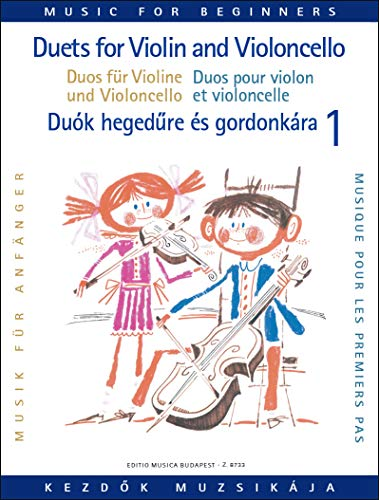 Duos für Violine und Violoncello für Anfänger I
